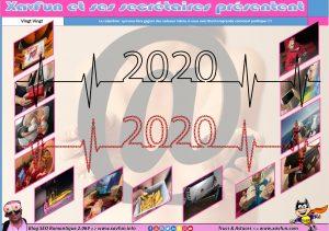 Calendrier Xavfun 2020